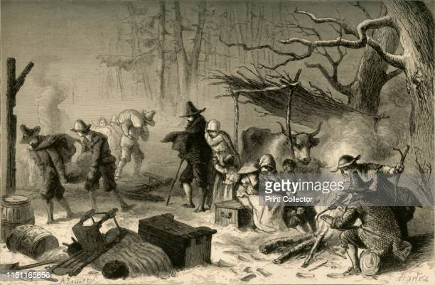 English Settlers in America' The Europeans who arrived on the east coast of what is now the United States in the early 17th century struggled to...