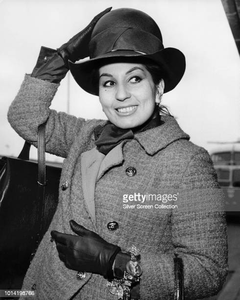 English singer Alma Cogan circa 1963