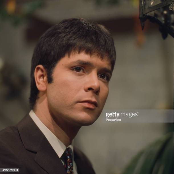 English singer and actor Cliff Richard pictured on the set of the television drama series 'Playhouse A Matter Of Diamonds' in 1968