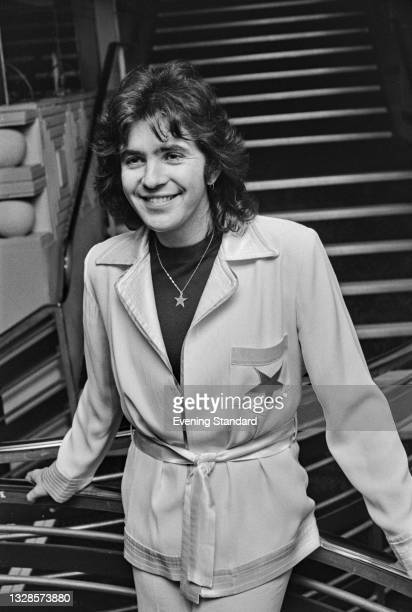 English singer and actor David Essex whilst performing at the New Victoria Theatre in London, UK, 3rd December 1974.