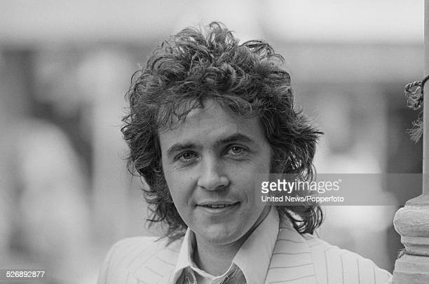 English singer and actor David Essex who plays the role of Che in the musical Evita pictured in London on 27th April 1978