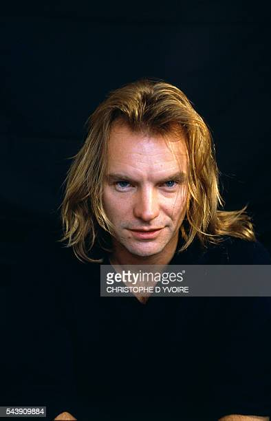 English Singer and Actor Sting