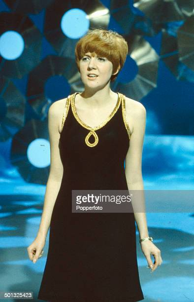 English singer and actress Cill Black performs on the television series 'The Bruce Forsyth Show' in 1966
