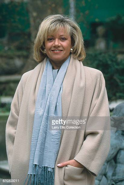 English singer and actress Elaine Paige circa 1990
