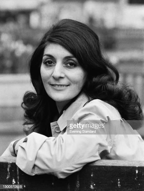 English singer and actress Georgia Brown , UK, 16th April 1973.