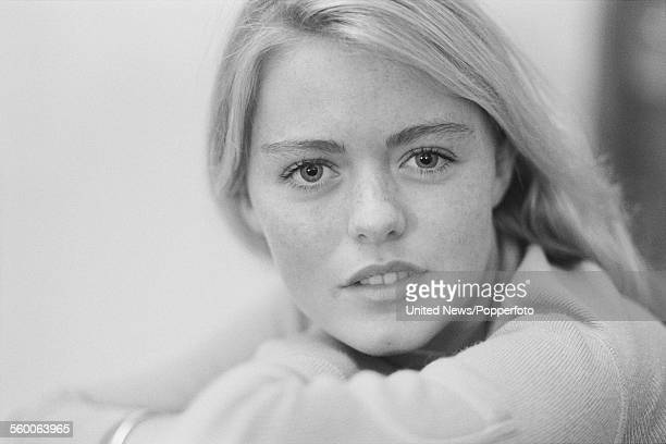 English singer and actress Patsy Kensit who appears in the television series 'Diana' in London on 5th January 1984