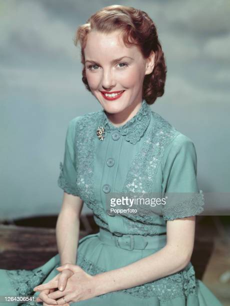English singer and actress Petula Clark posed in June 1952