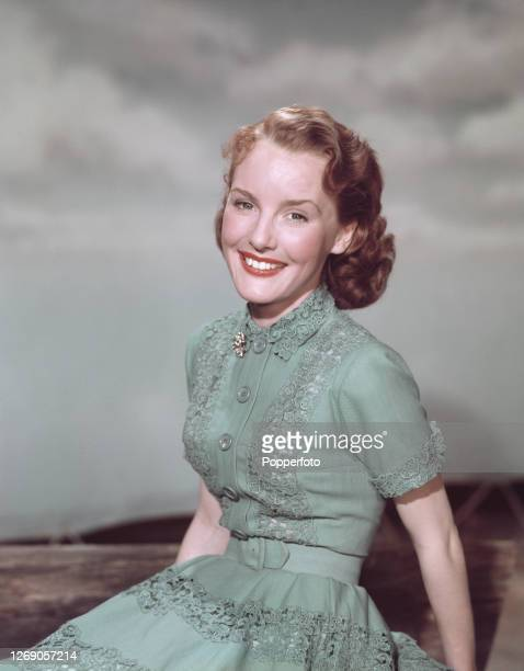 English singer and actress Petula Clark posed in June 1952.