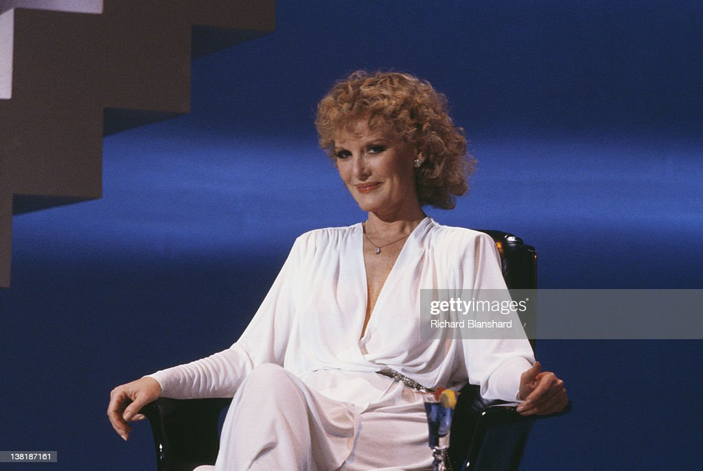 English singer and actress Petula Clark stars in the television play 'Traces of Love', broadcast in 1979.