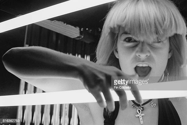 English singer and actress Toyah Willcox in Battersea London July 1980