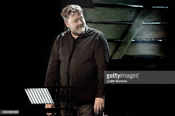 English singer and guitarist Guy Garvey pays tribute to singersongwriter Ewan MacColl with a performance of his song 'The First Time Ever I Saw Your...