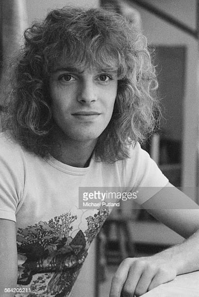 English singer and guitarist Peter Frampton April 1976