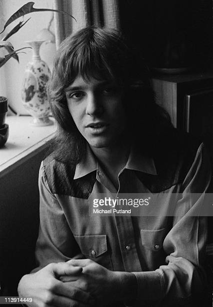 English singer and guitarist Peter Frampton of Humble Pie London January 1971