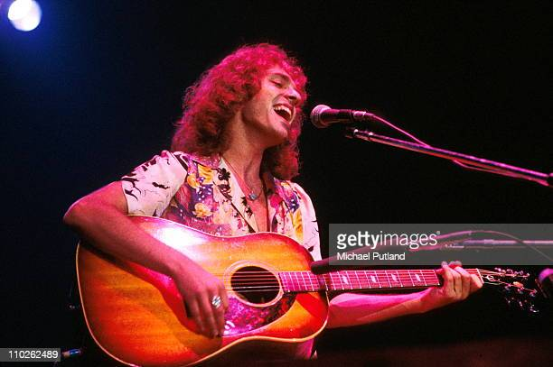English singer and guitarist Peter Frampton performing on stage USA 13th June 1977