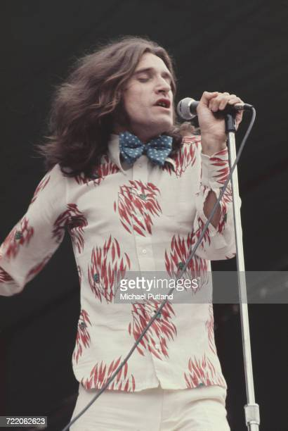 English singer and guitarist Ray Davies of The Kinks performs live onstage at the White City Festival at White City Stadium in London on 15th July...