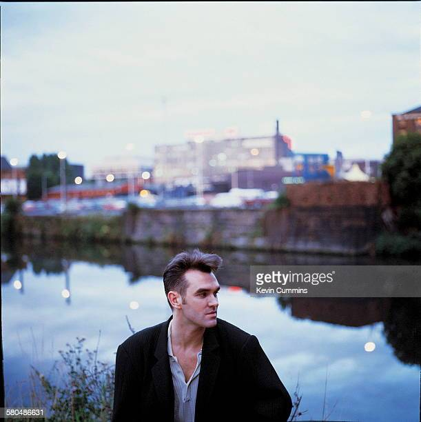 English singer and lyricist Morrissey circa 1990