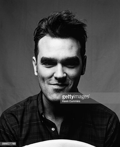 English singer and lyricist Morrissey circa 1990