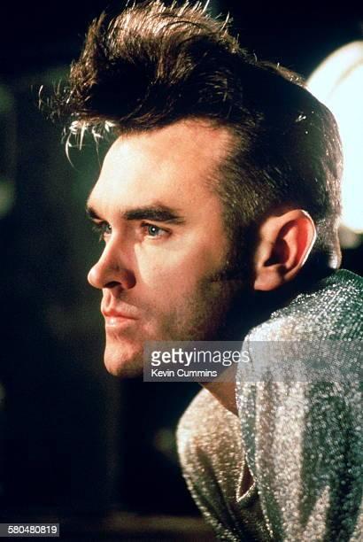 English singer and lyricist Morrissey circa 1991