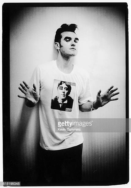 English singer and lyricist Morrissey Cologne Germany May 1991