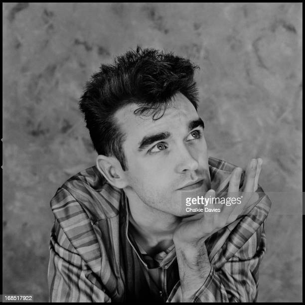 English singer and lyricist Morrissey of English alternative rock band The Smiths Manchester 1983