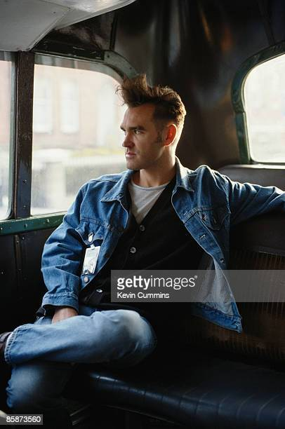 English singer and lyricist Morrissey on his 'Kill Uncle' tour 1991
