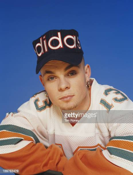 English singer and musician Brian Harvey of English pop group East 17 circa 1995 They are Terry Coldwell Brian Harvey Tony Mortimer and John Hendy