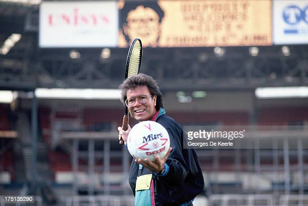 English singer and musician Cliff Richard at Wembley on February 7 1989 in London England