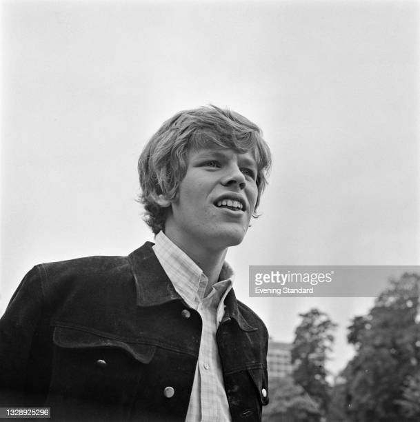 English singer and musician Peter Noone, the lead singer of pop group Herman's Hermits, UK, 3rd July 1965.