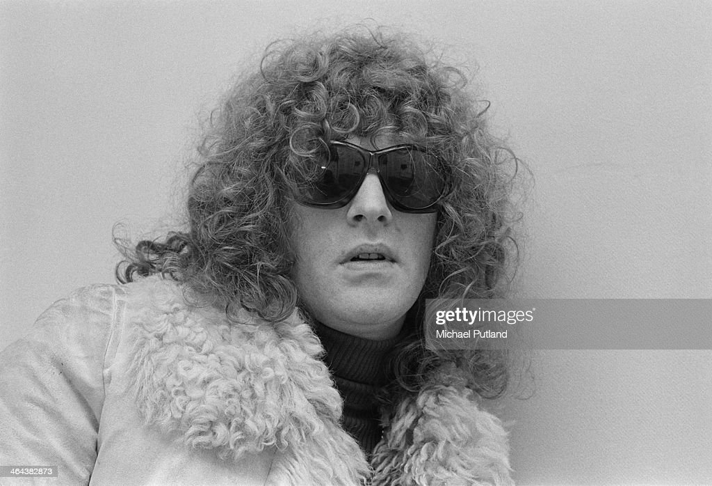 English singer and songwriter Ian Hunter of Mott the Hoople, London, 7th January 1974.