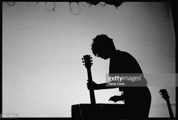 English singer and songwriter Ian McCulloch of Echo The Bunnymen performing in Leeds 26th September 1981