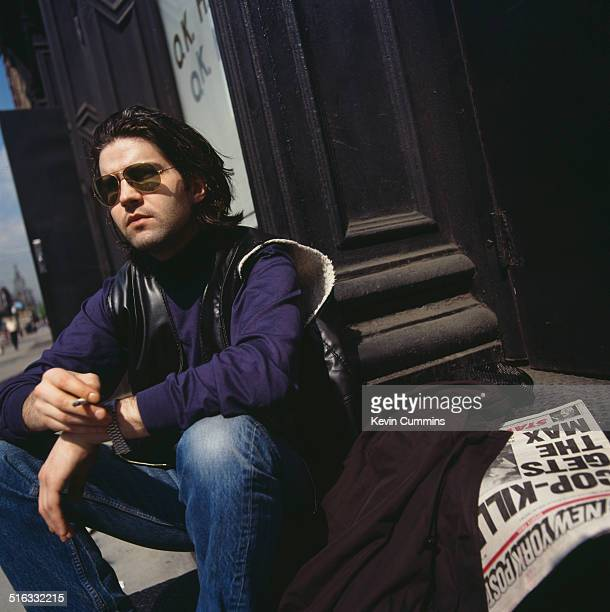 English singer and songwriter Lloyd Cole in New York City 5th June 1989