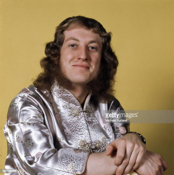 English singer and songwriter Noddy Holder of glam rock group Slade London 1972