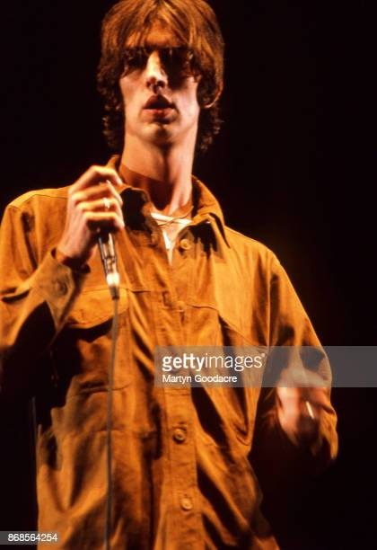 English singer and songwriter Richard Ashcroft of The Verve performs on stage at V98 Hylands Park Chelmsford United Kingdom 22nd August 1998