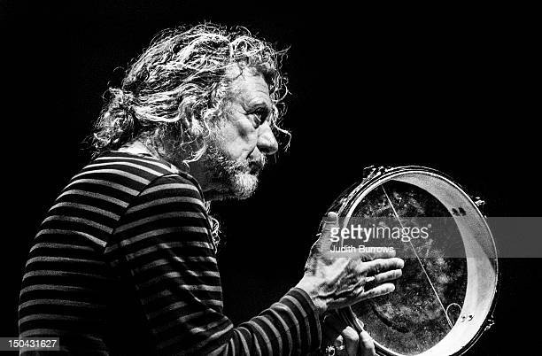 English singer and songwriter Robert Plant in concert 20th February 2012