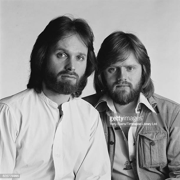 English singer and songwriter Tony Hazzard and British singer Richard Barnes 1976