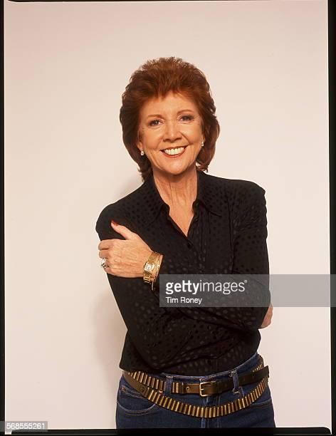 English singer and television presenter Cilla Black circa 2000
