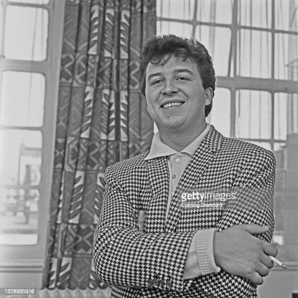 English singer Chris Andrews, UK, 25th September 1965.