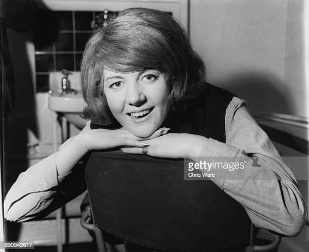 English singer Cilla Black , UK, 1963.