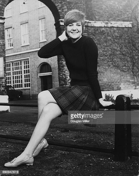 English singer Cilla Black , UK, 1967.