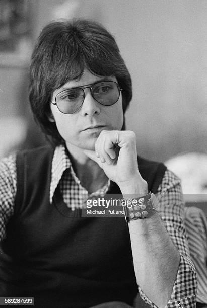 English singer Cliff Richard February 1976
