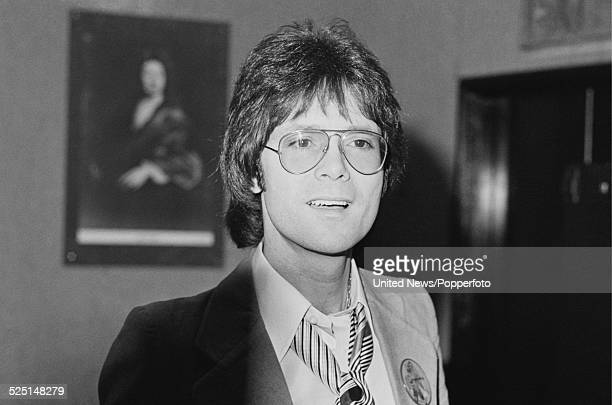 English singer Cliff Richard pictured in London on 2nd February 1979