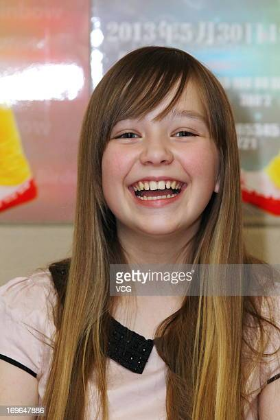 6dc189a6ffdd6 English singer Connie Talbot attends a rehearsal prior to her Beijing  concert on May 29 2013