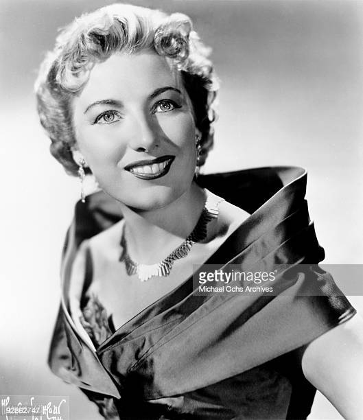 English singer Dame Vera Lynn poses for a portrait circa 1955 in New York city New York