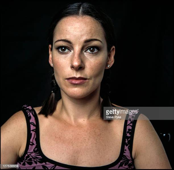 English singer, dancer and stage actress Ruthie Henshall in London, 7th August 1998. She is starring as Roxie Hart in the stage musical 'Chicago', at...