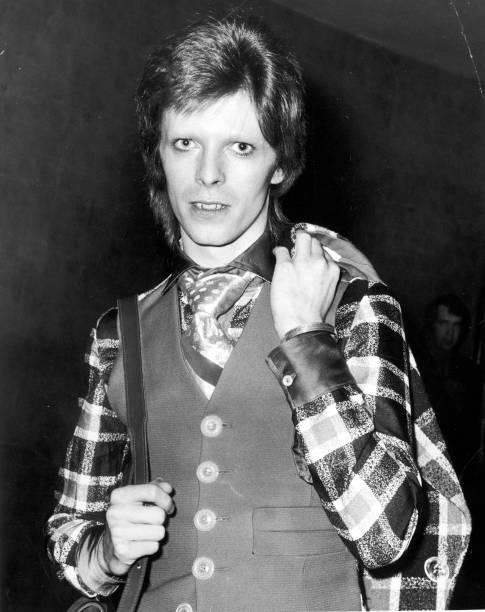 Bowie At Premiere