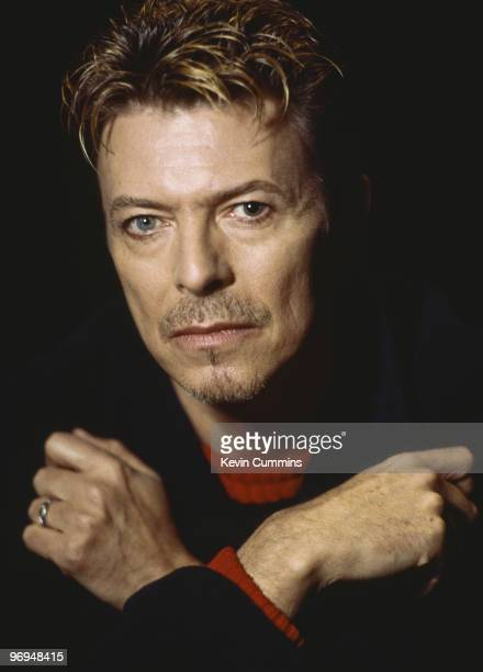 English singer David Bowie in November 1995
