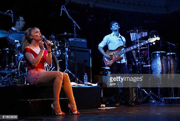 English singer Duffy performs at her first official Dutch concert at the Paradiso in Amsterdam on July 2 2008 AFP PHOTO /ANP PHOTO ROBERT VOS...