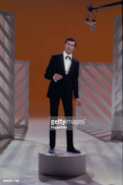 1968 English singer Engelbert Humperdinck performs on the Morecambe and Wise television show in 1968