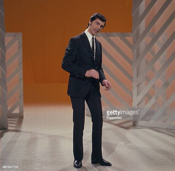 1968 English singer Engelbert Humperdinck performs on the television series 'The Morecambe and Wise Show' in 1968