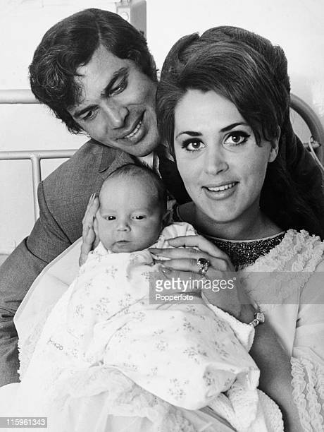 English singer Englebert Humperdinck with his wife Pat and their weekold son in London on 10th May 1968